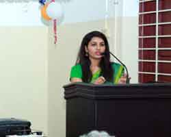 Dr. Renu Raj ( Sub Collector Thrissur) - Inauguration