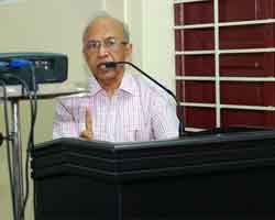 Dr.A. K. Unnikrishnan- Presidential address