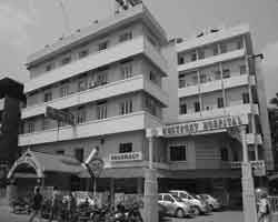 First office at Fort Hospital Thrissur (1997)